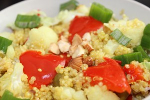 quinoa pečený karfiol a paprika2